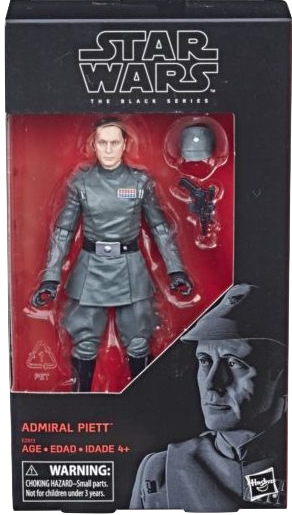 Admiral Piett Star Wars Black Kramer Toy Warden