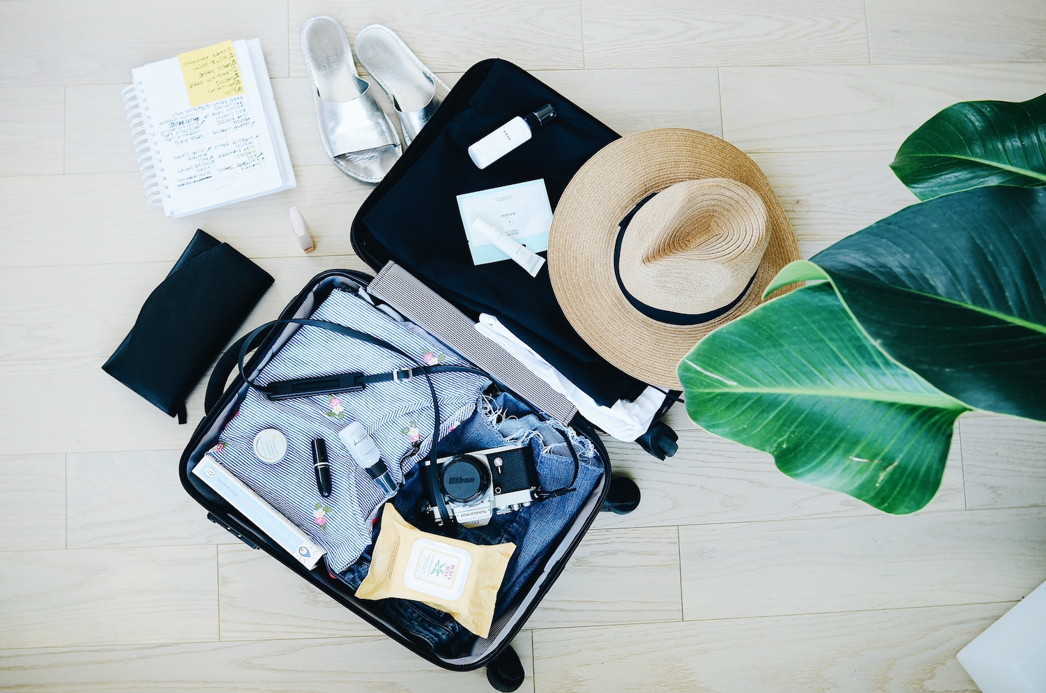 what to pack to keep healthy while traveling