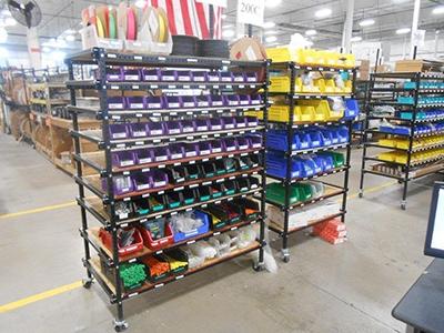 Kan Ban Tote Storage Rack