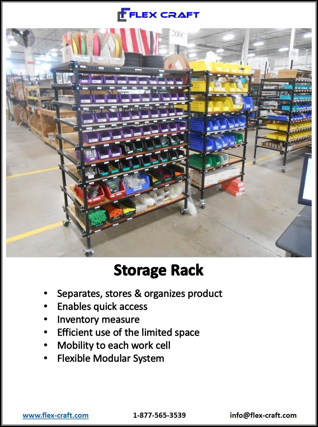 Kan Ban Kanban Storage Rack