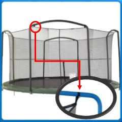 SportsPower Arch Pole For Straps Nets