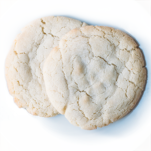 photo of traditional sugar cookie