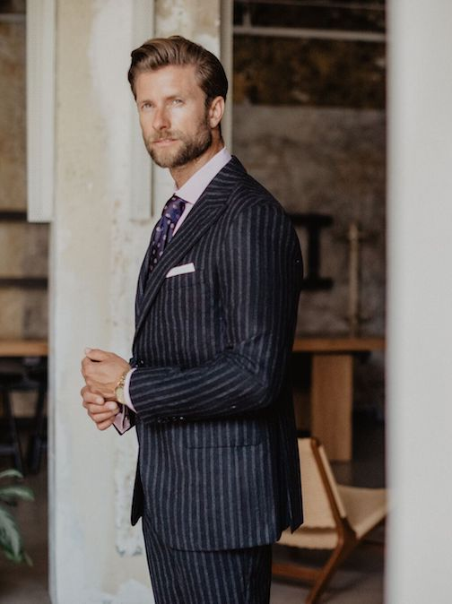 oxxford clothes mens custom suit
