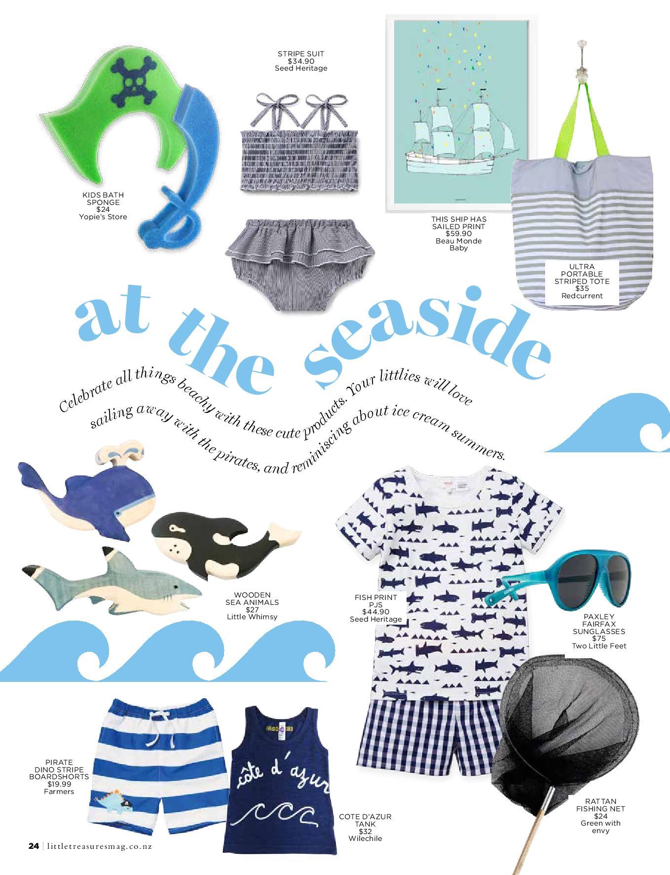Little Treasures Magazine + little whimsy