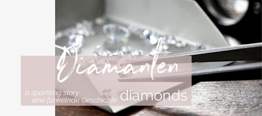 Diamanten - eine funkelnde Geschichte | SYNO Schmuck-Design