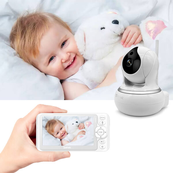 talk-back feature baby monitor