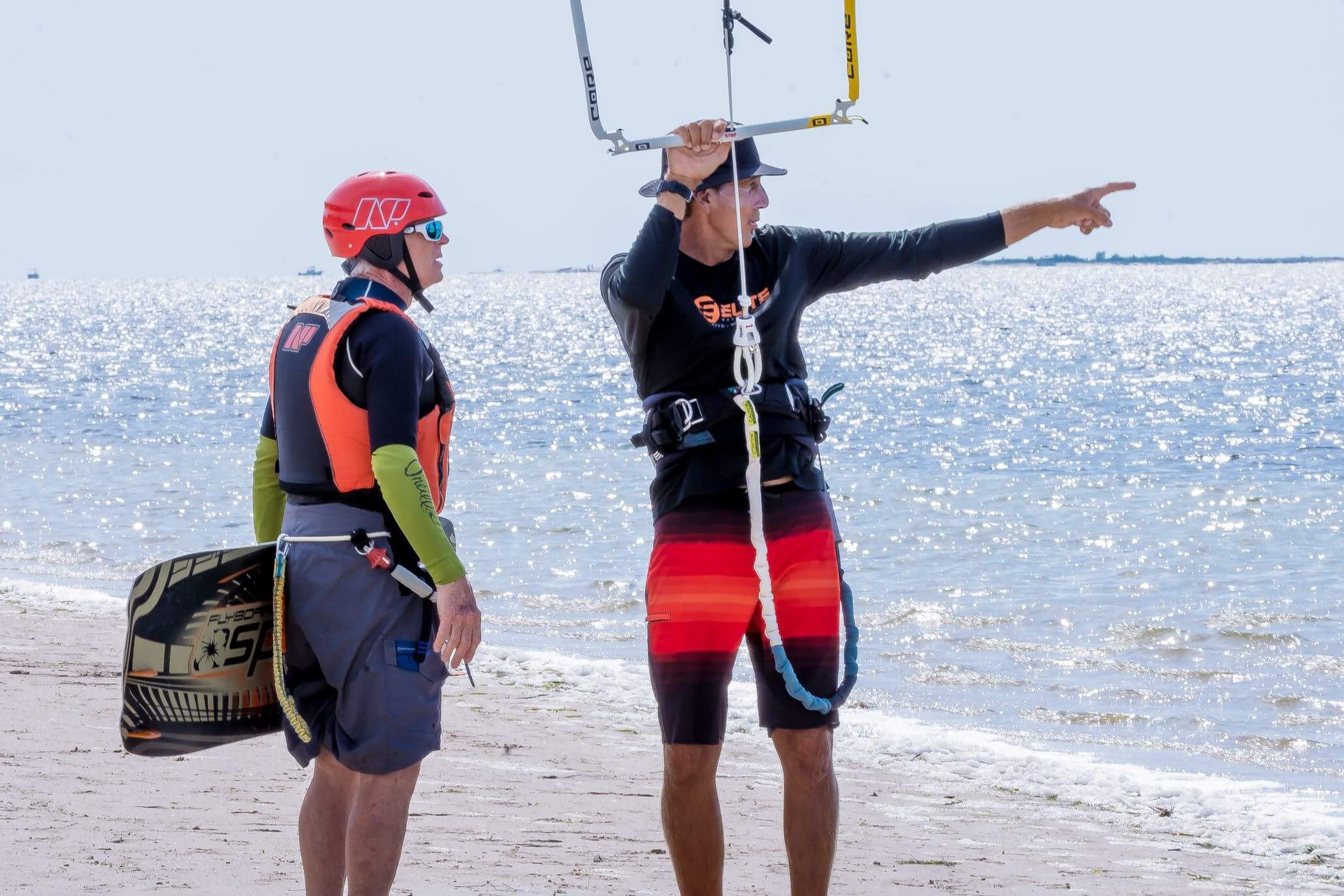 Kiteboarding lessons St Petersburg