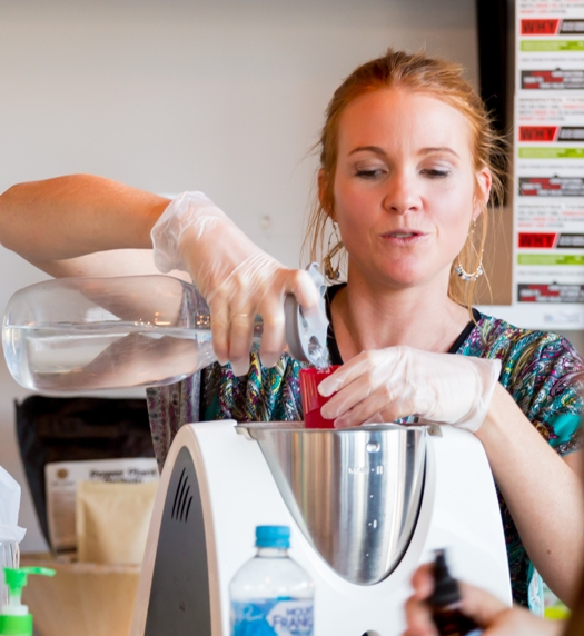 Tamara Brown Teaching The Raw Food Girl