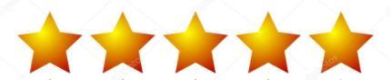 5 étoiles avis content