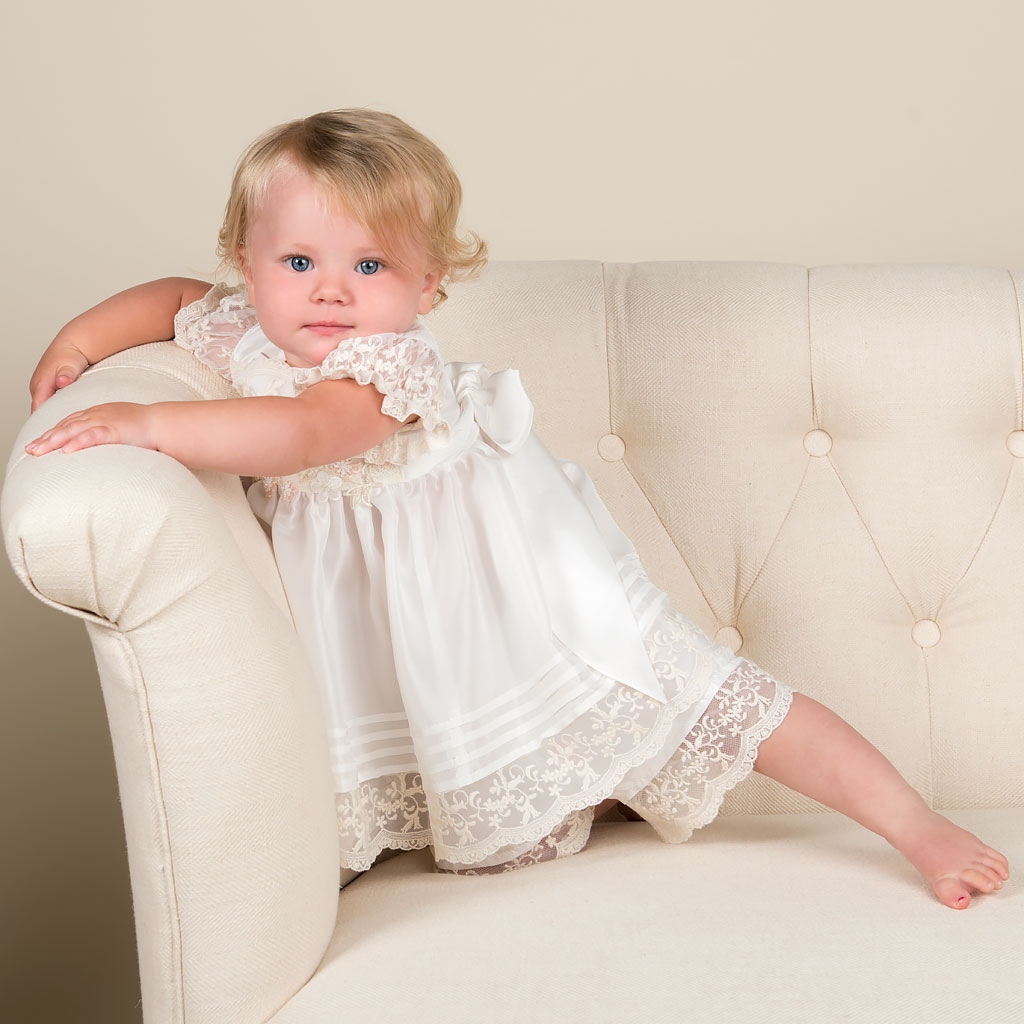 Adeline Girls Christening Dress Collection