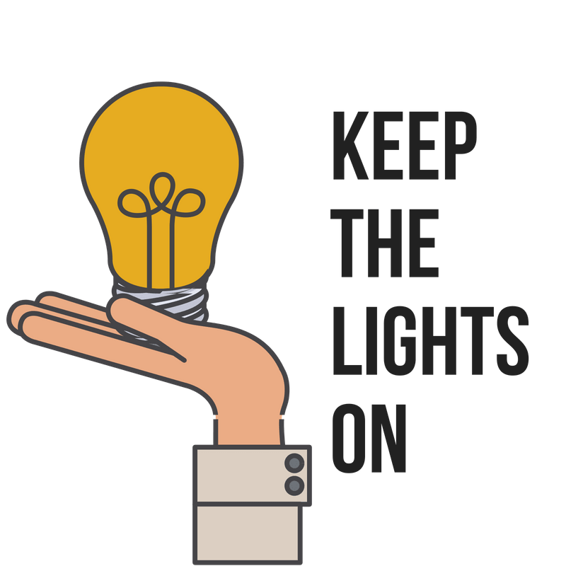 Keep the lights on excercise