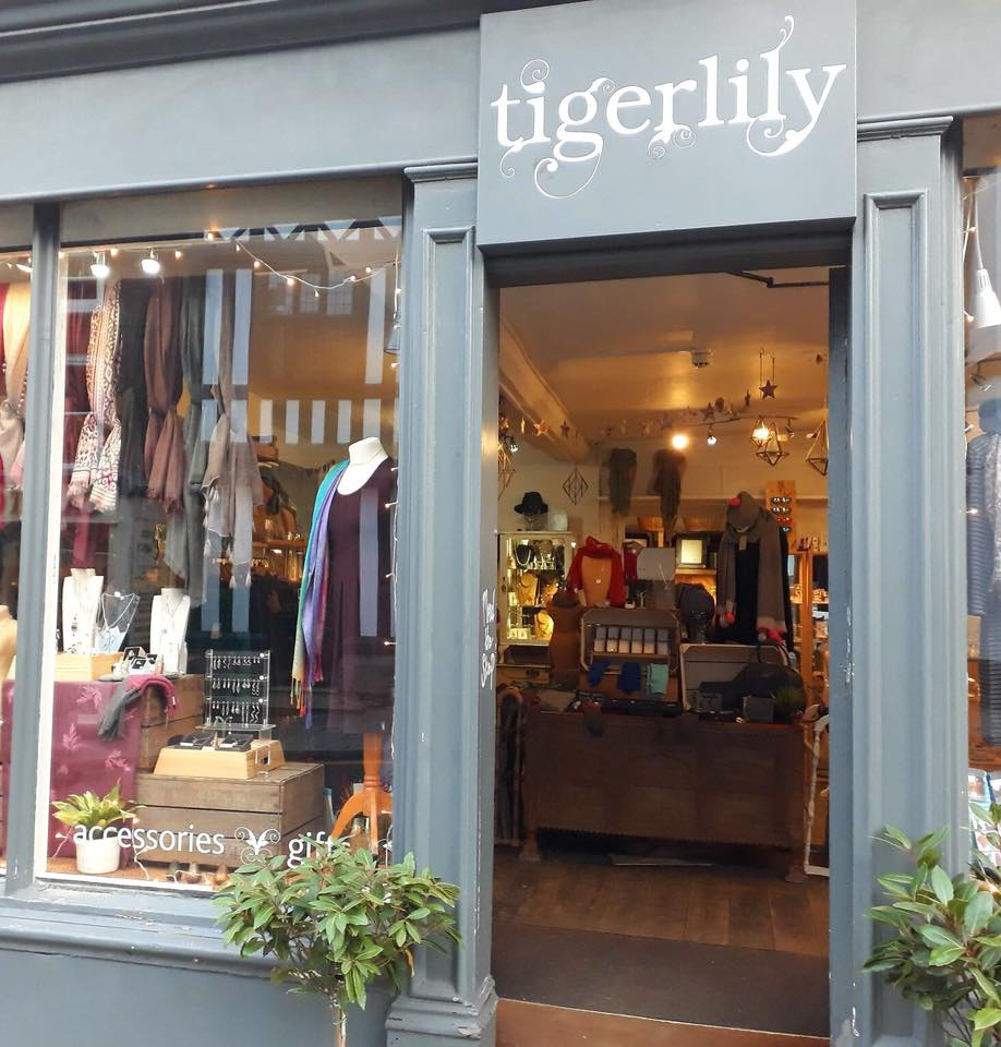 Tigerlily shop front