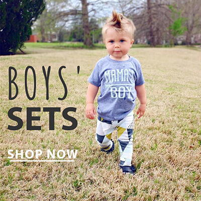Toddler Boy Outfit Sets