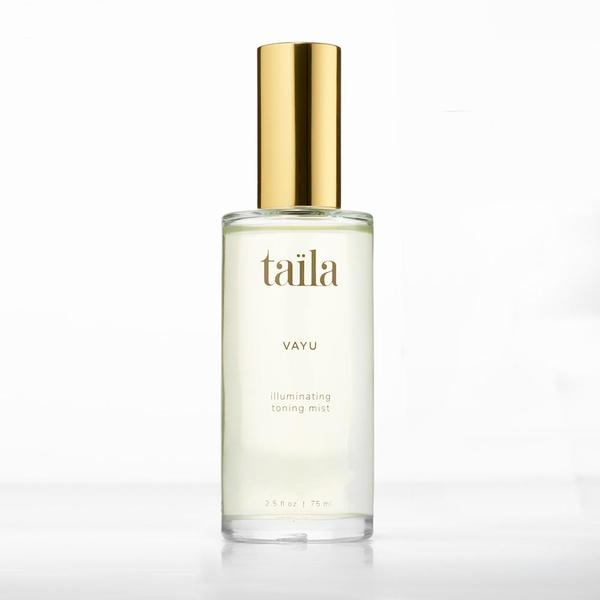 Taila Natural Ayurvedic Skincare Vayu Illuminating Toning Mist moisturizing toner to protect and tone