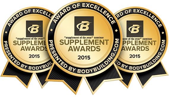 bodybuilding award supplement of the year nominee