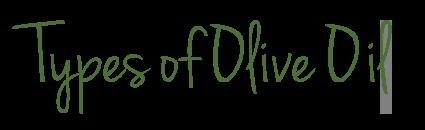 Storing Olive Oil