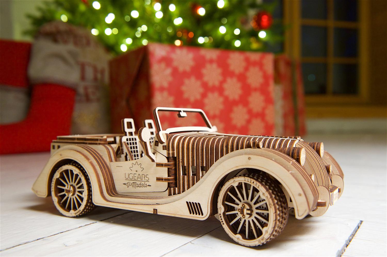 Start Christmas Shopping: Ugears Mechanical Model | Roadster