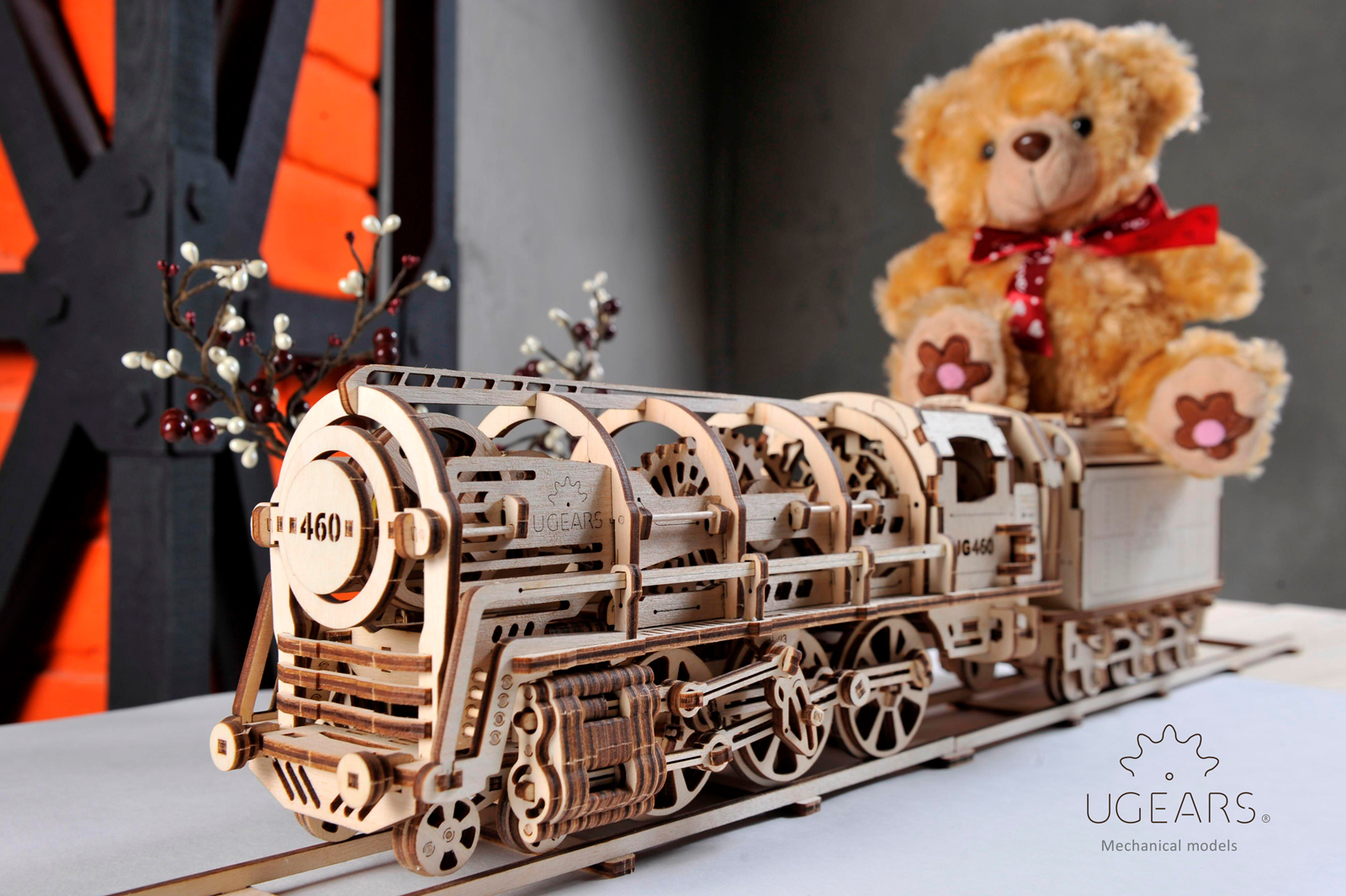 Start shopping Christmas Gifts: UGEARS Steam Locomotive with