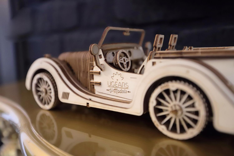 Start Christmas Shopping: Ugears Mechanical Model   Roadster