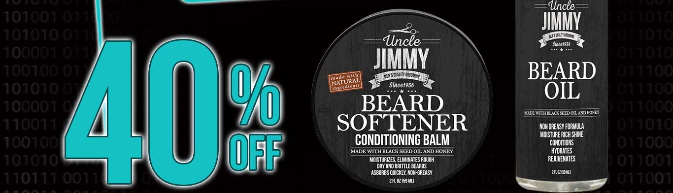 Save 40% Off on all Uncle Jimmy Products
