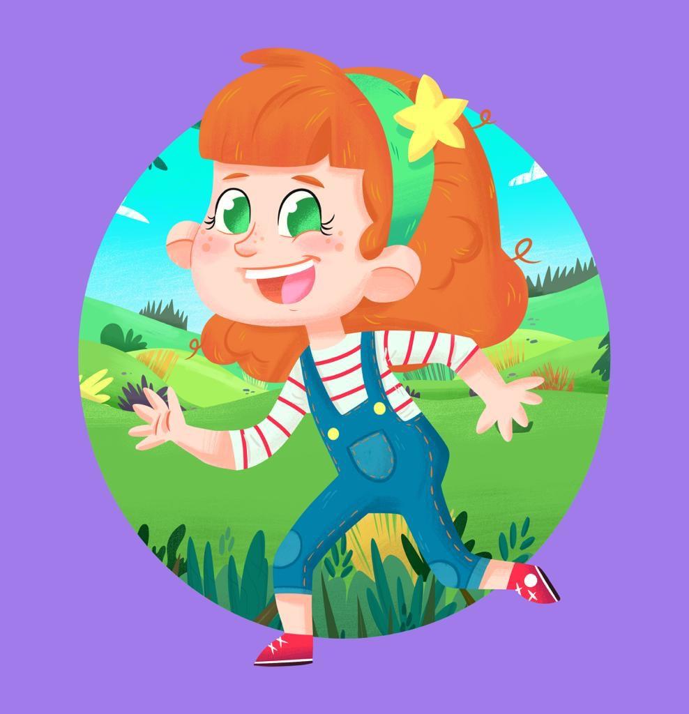 Autism Girl Character