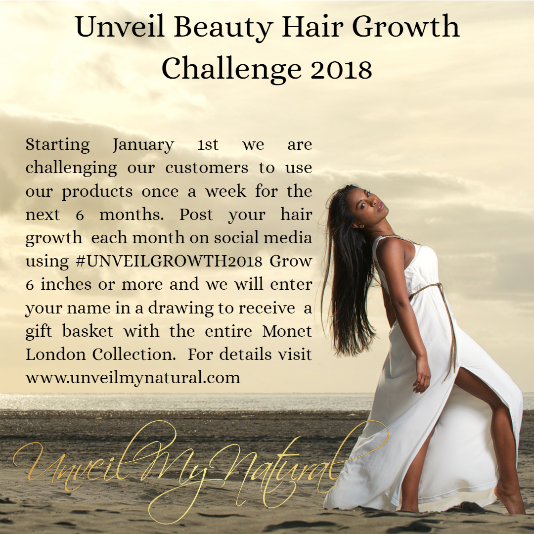Natural Hair Products | UnveilMyNatural | Hair Growth Challenge | Grow Hair Faster