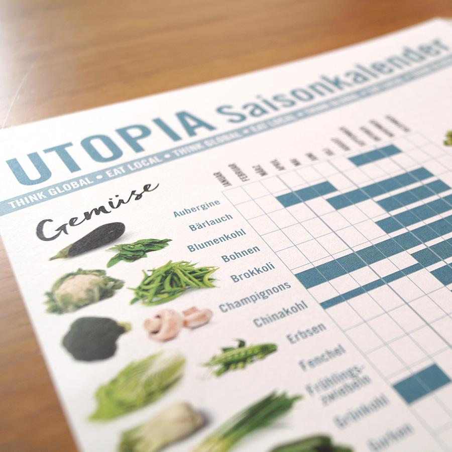 Utopia Saisonkalender