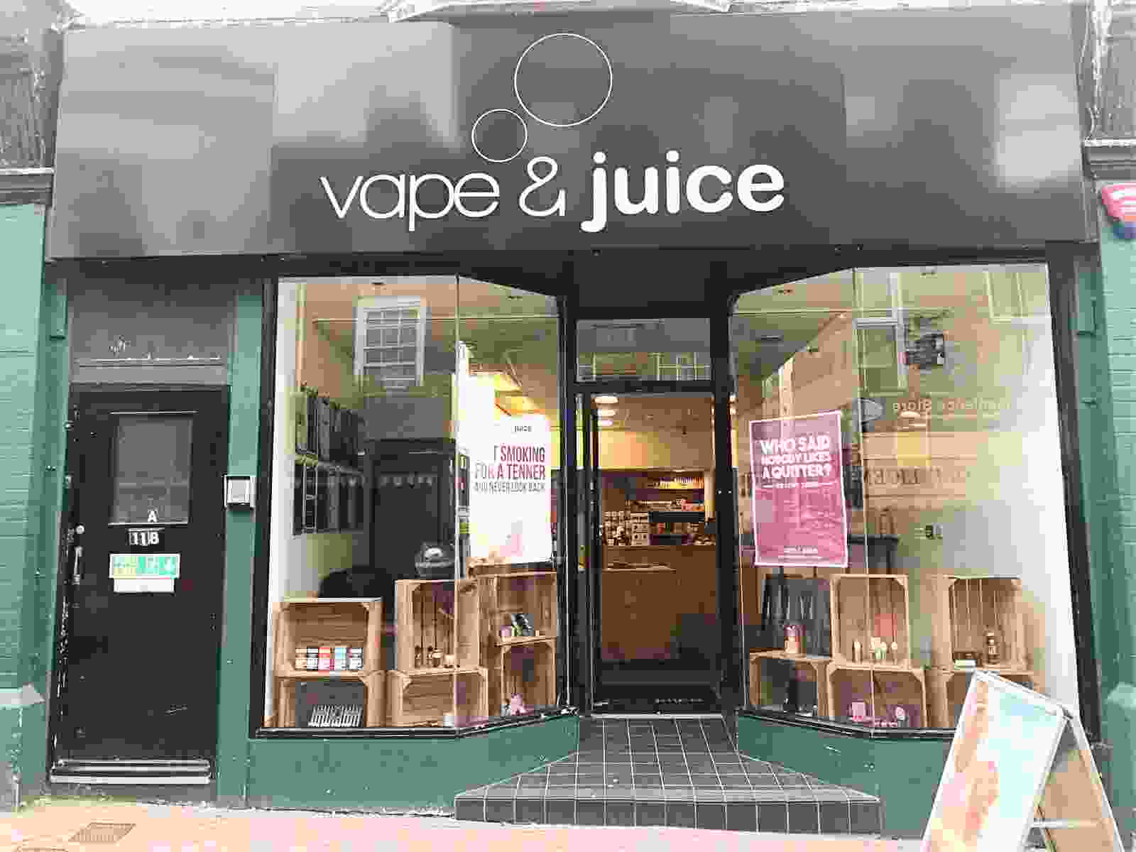 Vape and Juice Ecig Shop  Islington Clerkenwell