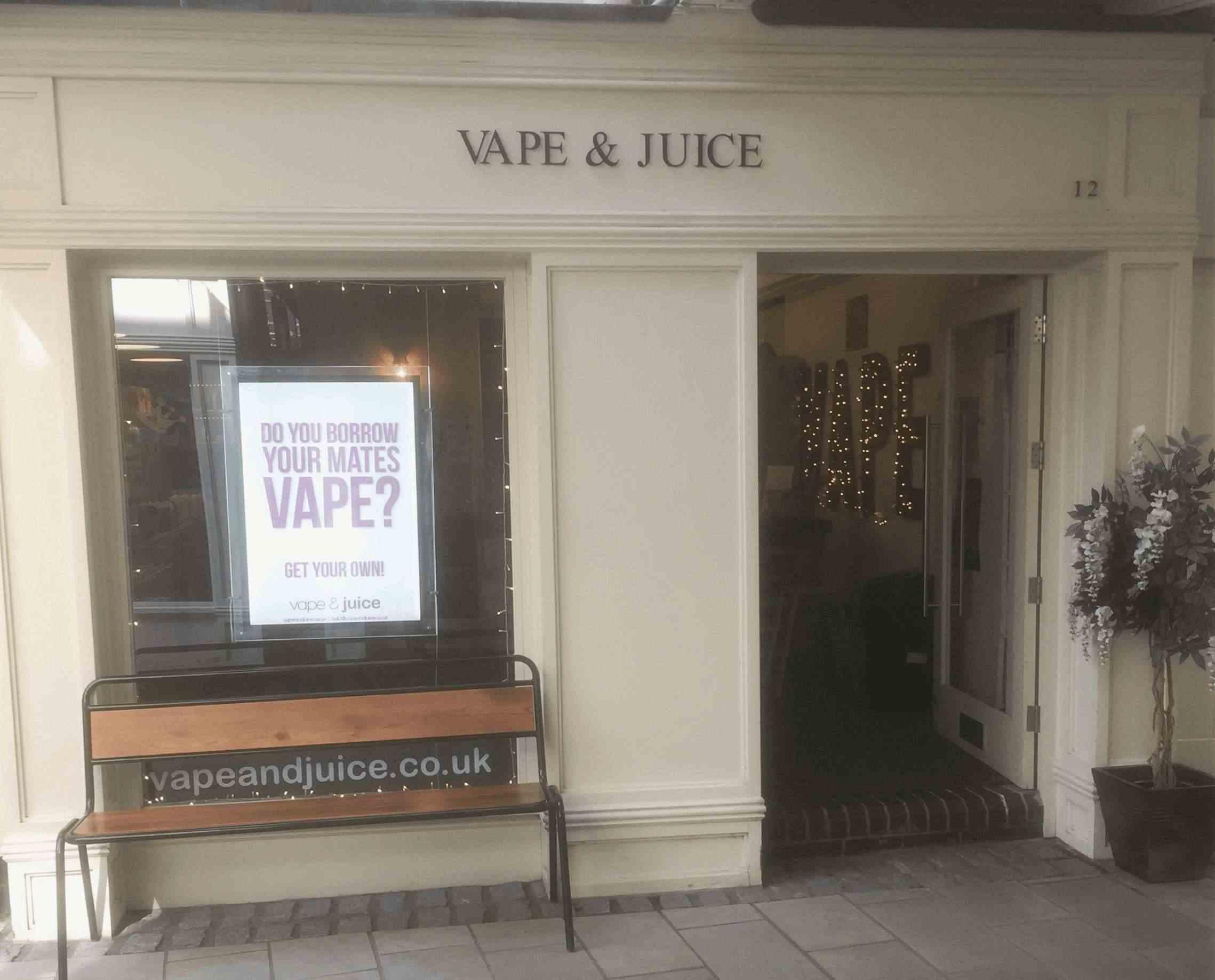 Vape and Juice Ecig Shop colchester