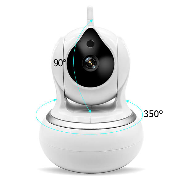 video baby monitor wide angle