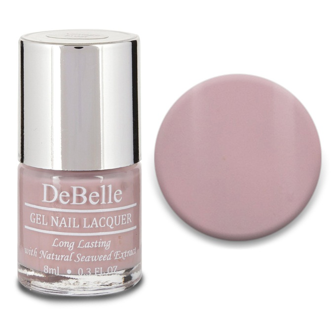 DeBelle Gel Nail Lacquer Vintage Frost (Pastel Purple Nail Polish)