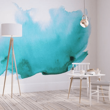 water color wall