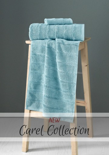 The Best Towels Online Made With 100% Combed Turkish Cotton - Ribbed Bath Sheets