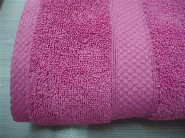 Combed Cotton Terry Cloth Single Twist Ringspun Towels