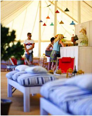 VIP Glastonbury Camping