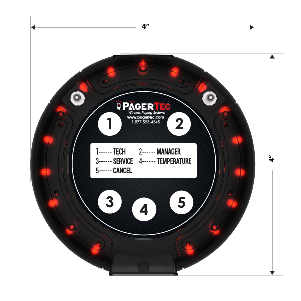 Pagertec Wireless Call Button System