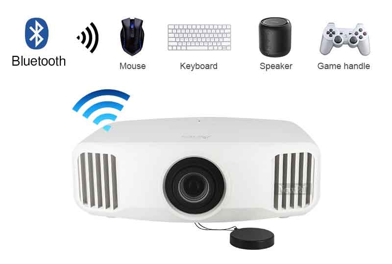 Gaming projector with wifi and bluetooth