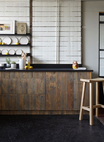Yard Reclaimed Wooden Bespoke Kitchen