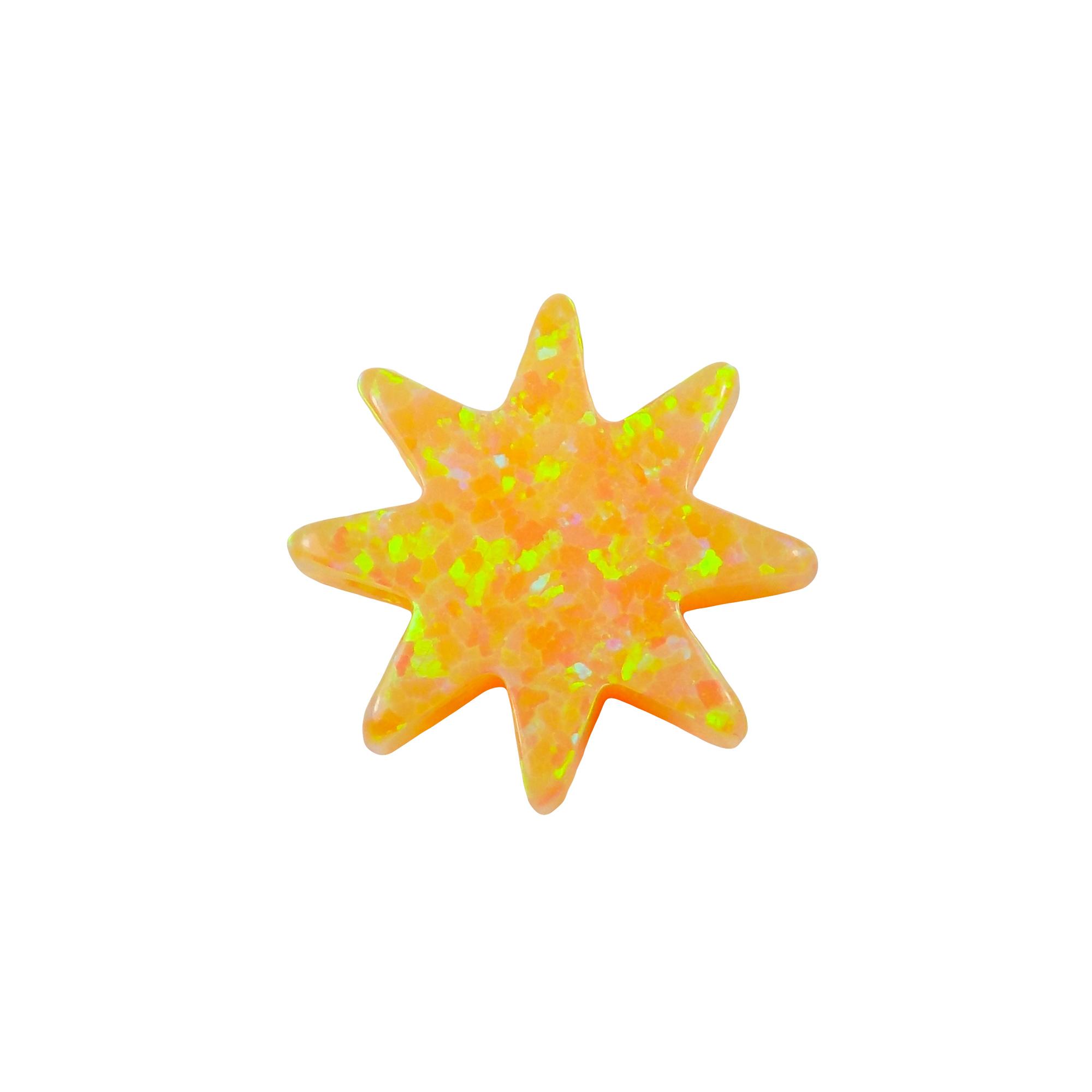 Sun Opal Pendant