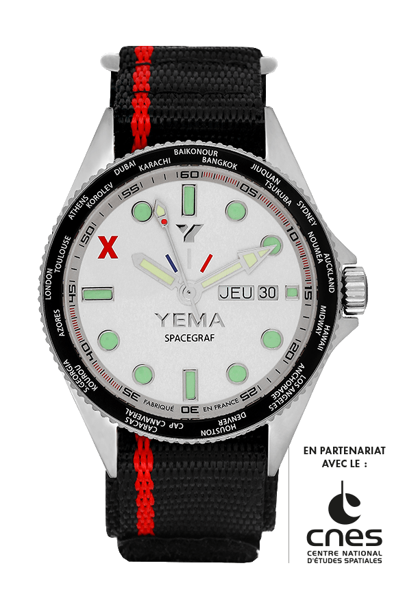 YEMA SPACEGRAF JOUR/DATE