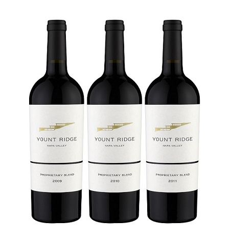 Yount Ridge Cellars Proprietary Red Blend Vertical