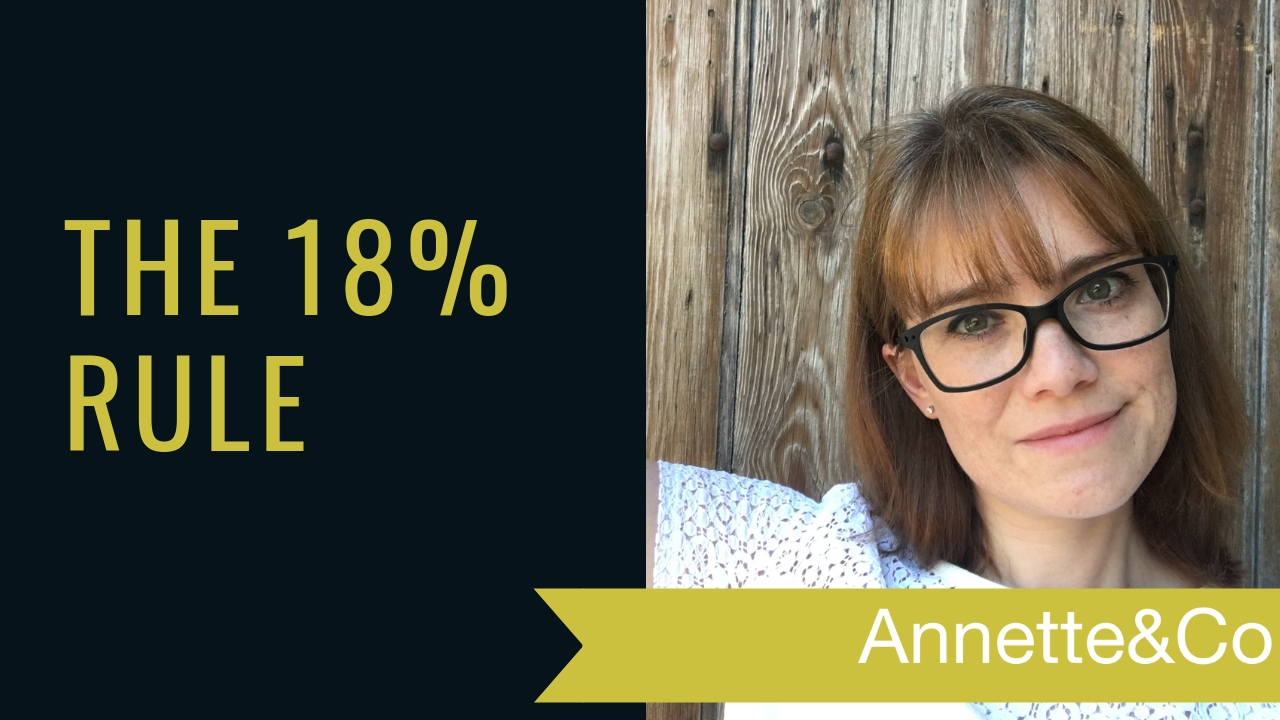 The 18% Rule by Annette Ferguson